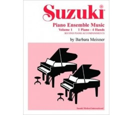 SUZUKI PIANO ENSEMBLE MUSIC...
