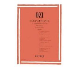 OZI 6 GRANDI SONATE IN...