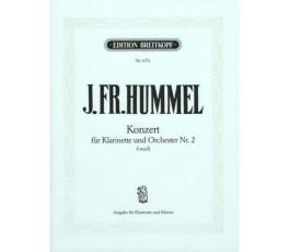 HUMMEL J.FR. KONZERT FÜR...