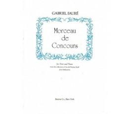 FAURE G. MORCEAU DE CONCOURS