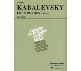 KABALEVSKY D. RONDOS (4) OP.60