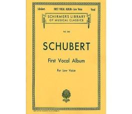 SCHUBERT FIRST VOCAL ALBUM...