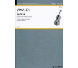 VIVALDI SONATA E minor, Mi...