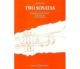 HOOK J. TWO SONATAS