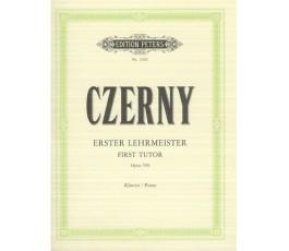 CZERNY FIRST TUTOR OP 599