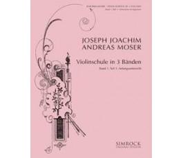 MOSER J.J.A. VIOLINSCHULE...