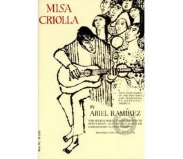 RAMIREZ A. MISA CRIOLLA