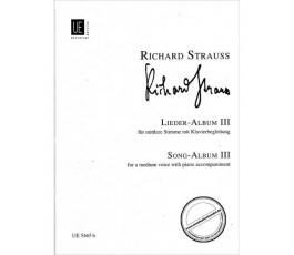 STRAUSS R. LIEDER ALBUM III
