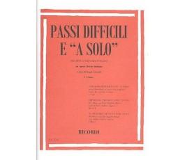 """PASSI DIFFICILI E """"A SOLO""""..."""