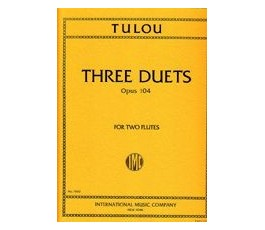 TULOU THREE DUETS OPUS 104