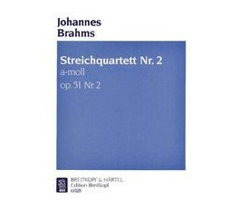 BRAHMS J. STREICHQUARTETT...