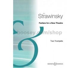 STRAWINSKY I. FANFARE FOR A...