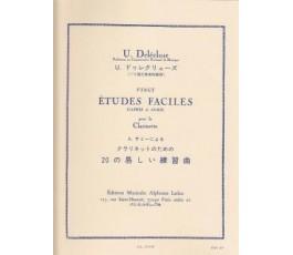 DELECLUSE U. VINGT ETUDES...