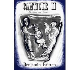 BRITTEN B. CANTICLE II...