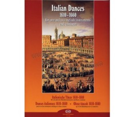 BALI J. ITALIAN DANCES 1610...