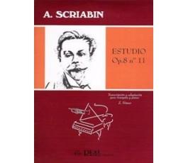 SCRIABIN A. ESTUDIO OP.8 Nº 11