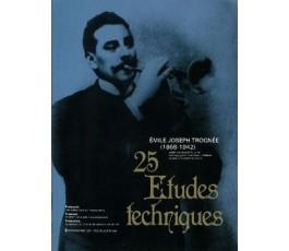 TOGNÉE E.J. 25 ETUDES...