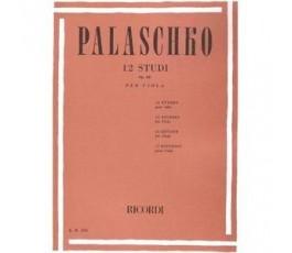 PALASCHKO 12 STUDI OP 62...