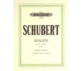 SCHUBERT F. SONATA A MOLL...
