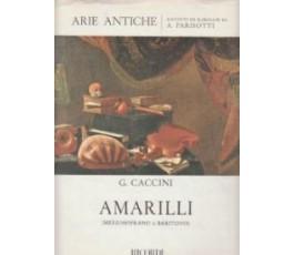 CACCINI G. AMARILLI