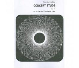 GOEDICKE A. CONCERT ETUDE...