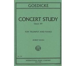 GOEDICKE CONCERT STUDY OP.49