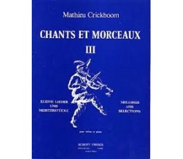 CRICKBOOM M. CHANTS ET...