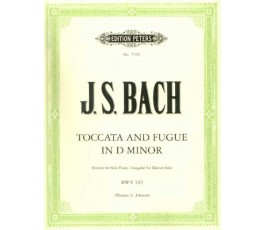 BACH J.S. TOCCATA AND FUGUE...