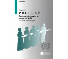 POULENC F. Quatre Motets...