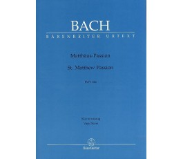 BACH Matthäus Passion BWV 244