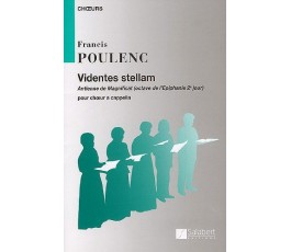 POULENC F. Videntes stellam...