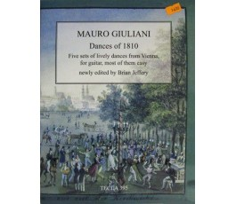 GIULIANI M. DANCES OF 1810