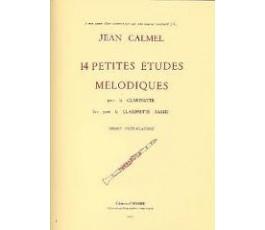 CALMEL Jean  Petites études...