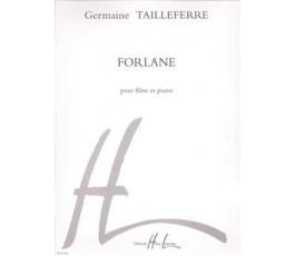 TAILLEFERRE Germaine  Forlane