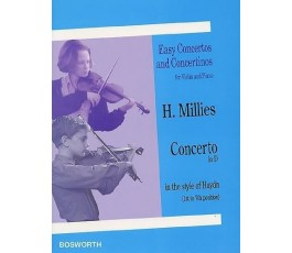 MILLIES H. CONCERTO IN D