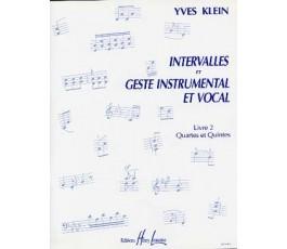 KLEIN Y. Intervalles et...