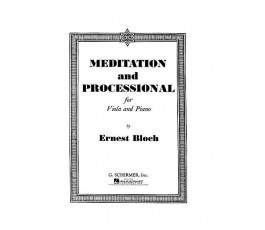 BLOCH E. MEDITATION AND...