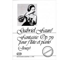 FAURÉ G. FANTASIE OP.79