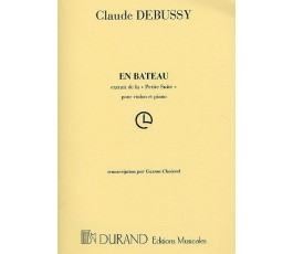 DEBUSSY C. EN BATEAU...