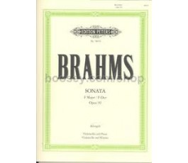 BRAHMS SONATE F DUR/F MAJOR...