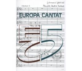 GABRIELI G. Europa cantat 5