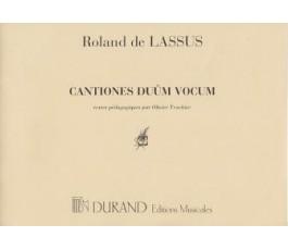 LASSUS DE R. de Cantiones...