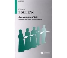 POULENC F. Ave verum corpus