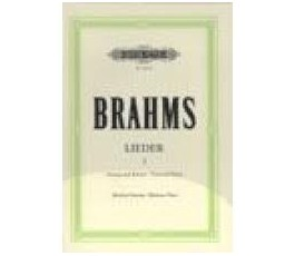 BRAHMS LIEDER I   MEDIUM VOICE