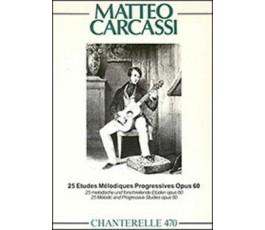 CARCASSI M. 25 ETUDES...