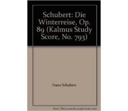 SCHUBERT F. DIE WINTERREISE...