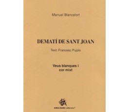BLANCAFORT M. Dematí de...