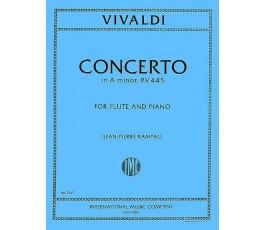 VIVALDI A. CONCERTO IN LA...