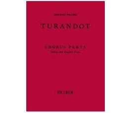 PUCCINI G. TURANDOT (CHORUS...
