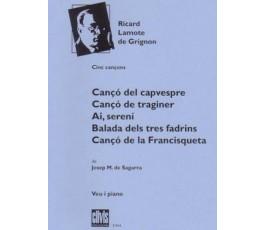 LAMOTE DE GRIGNON R. CINC...